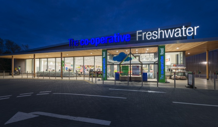 Co op Freshwater Exterior