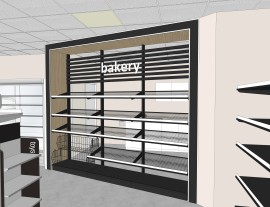 3D visualization bakery