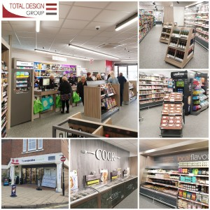 Shopfitters refurbished Co-op